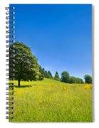 Idyllic Landscape Spiral Notebook