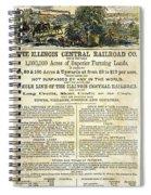 Illinois Railroad Company Spiral Notebook