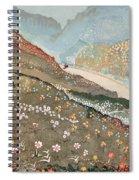 Illustration For Kim By Rudyard Kipling Spiral Notebook