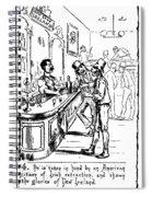 Immigrants: Irish, C1885 Spiral Notebook