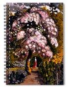 In A Shoreham Garden Spiral Notebook