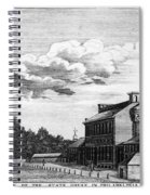Independence Hall, 1778 Spiral Notebook