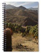 Indian Canyons Spiral Notebook