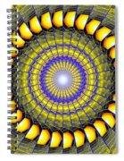 Infinity Gateway Nine Kaleidoscope Spiral Notebook