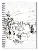 Ink Sketch Spiral Notebook