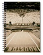 Interior Of The Old Astrodome Spiral Notebook