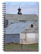 Iowa Barn Spiral Notebook