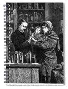 Ireland: Vaccination, 1880 Spiral Notebook