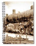 Iron Horse Boneyard Spiral Notebook