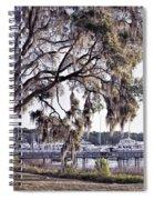 Isle Of Hope Marina Spiral Notebook