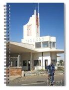 Italian Colonial Architecture In Asmara Eritrea Spiral Notebook