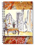 Italy Sketches Venice Hotel Spiral Notebook