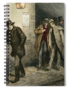 Jack The Ripper Spiral Notebook