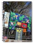 Jackson Square Vendors Spiral Notebook