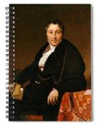 Jacques-louis Leblanc Spiral Notebook