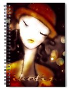 Jalousie Spiral Notebook