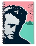 James Dean Spiral Notebook