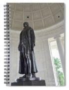 Jefferson Memorial # 6 Spiral Notebook