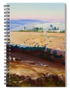 Jerusalem From The Mount Of Olives Spiral Notebook