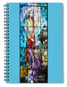 Jesus Healing The Blind Man Spiral Notebook