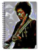 Jimi Hendrix Spiral Notebook