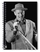 Joe Jackson Spiral Notebook