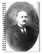 John Flammang Schrank (1876-1943) Spiral Notebook