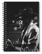 John Lee Hooker Spiral Notebook