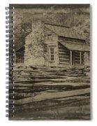 John Oliver Cabin In Cades Cove Spiral Notebook