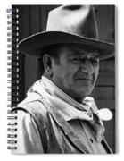 John Wayne Rio Lobo Old Tucson Arizona 1970 Spiral Notebook