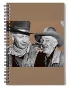 John Wayne Walter Brennan Publicity Photo Red River 1948-2013 Spiral Notebook