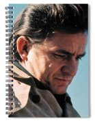 Johnny Cash Music Homage Ballad Of Ira Hayes Old Tucson Arizona 1971 Spiral Notebook