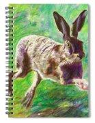 Joyful Hare Spiral Notebook