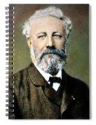 Jules Verne (1828-1905) Spiral Notebook