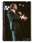 Julio Iglesias Spiral Notebook