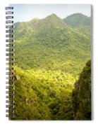 Jungle Landscape Spiral Notebook