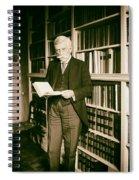 Justice Oliver Wendell Holmes 1924 Spiral Notebook