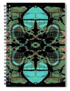 Kaleidoscope Flower 4 Spiral Notebook