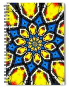 Kaleidoscope Of Primary Colors Spiral Notebook