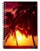 Kamaole Nights Spiral Notebook