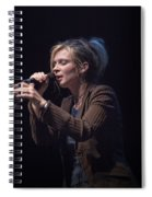 Karin Bergquist Lead Singer Of Over The Rhine Spiral Notebook