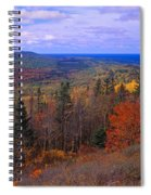 Keweenaw Peninsula And Copper Harbor Spiral Notebook