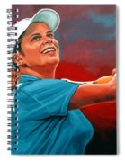 Kim Clijsters Spiral Notebook