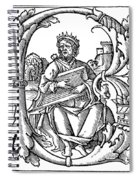 King David (d Spiral Notebook