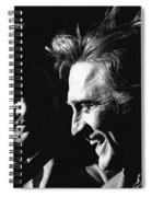 Kirk Douglas Laughing Johnny Cash Old Tucson Arizona 1971 Spiral Notebook