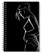 Kiss Me Goodnight Spiral Notebook