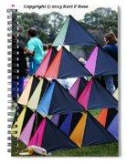 Kite Show Spiral Notebook