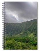Koolau Waterfalls Spiral Notebook