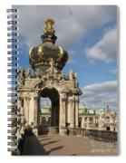 Kronentor Zwinger Dresden  Spiral Notebook