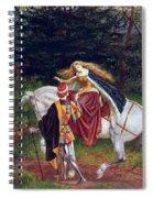 La Belle Dame Sans Merci Spiral Notebook